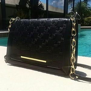 STEVE MADDEN New Black Crossbody Handbag Tote